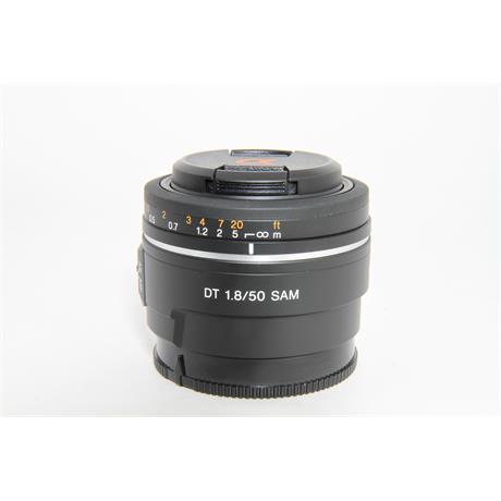 Sony Used DT 50mm f/1.8 SAM Lens  Image 1