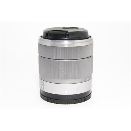 Used Sony E 18-55mm f/3.5-5.6 OSS Lens Silver  Image 1