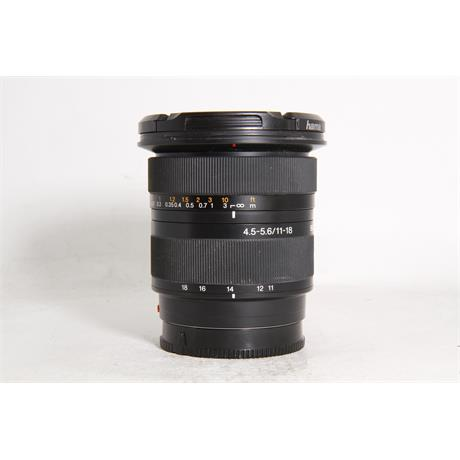 Used Sony 11-18mm f/4.5-5.6  Image 1