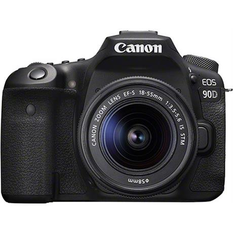 Canon EOS 90D DSLR Camera With 18-55mm IS STM Zoom Lens Kit Image 1