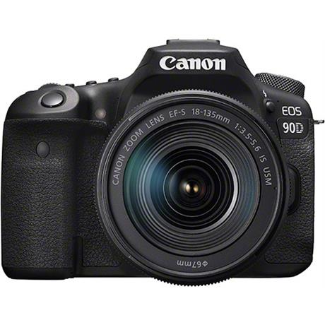 Canon EOS 90D DSLR Camera With 18-135mm IS USM Zoom Lens Kit Image 1