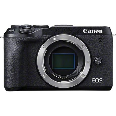 Canon EOS M6 Mk II Compact Mirrorless Camera Body - Black Image 1