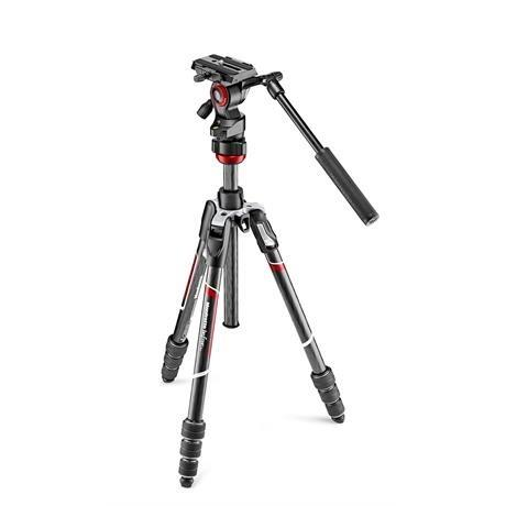 Manfrotto Befree Live Carbon Fibre Twist Lock Tripod Kit - Ex Demo Image 1