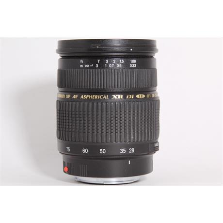 Used Tamron 28-75mm f/2.8 - Sony A Fit  Image 1