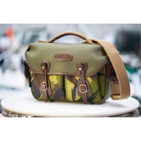 Billingham Hadley Small Pro Sage FibreNyte/Camo Shoulder Bag Image 1