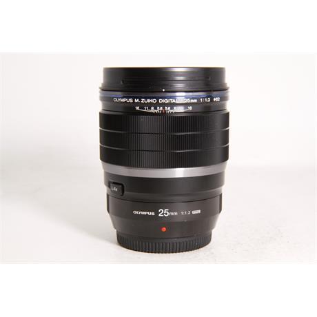 Used Olympus 25mm F/1.2 Pro  Image 1