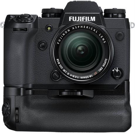 Fujifilm X-H1 16-55mm lens kit - Body & Grip Image 1