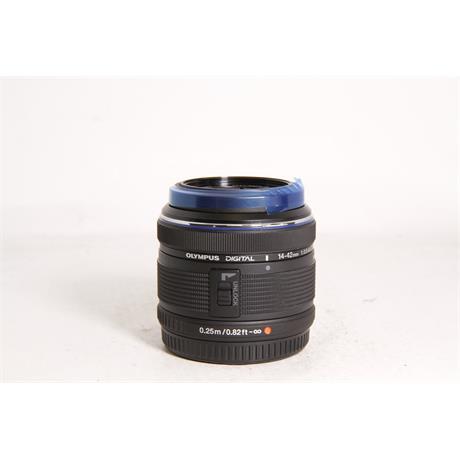 Used Olympus 14-42mm F/3.5-5.6 II Black  Image 1
