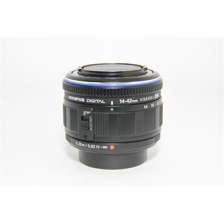 Used Olympus 14-42mm f/3.5-5.6 L ED Lens  Image 1