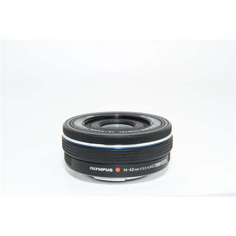 Used Olympus 14-42mm f3.5-5.6 EZ Lens Black  Image 1