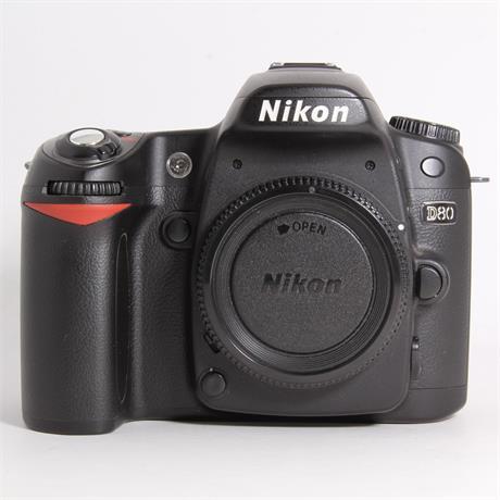 Used Nikon D80 body  Image 1