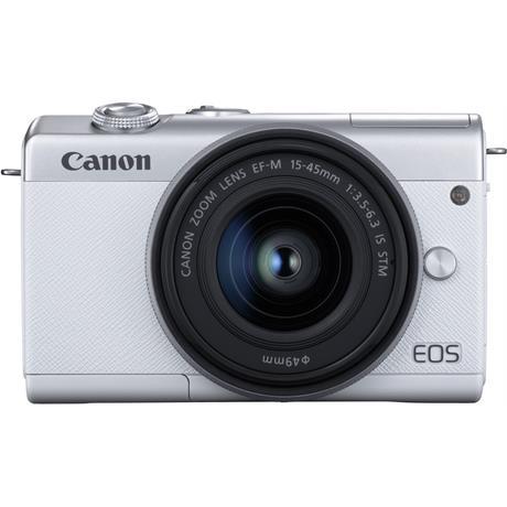 Canon EOS M200 + 15-45mm White Image 1