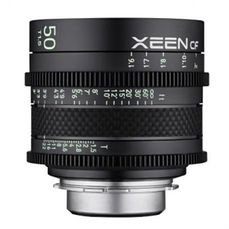 Samyang 50mm T1.5 XEEN CF Cine - PL Image 1