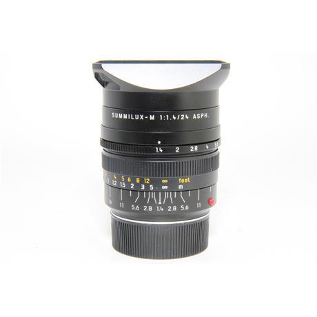 Used Leica SUMMILUX-M 24mm f/1.4 (11601) Image 1
