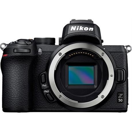 Nikon Z 50 Mirrorless Camera Body With FTZ Adapter Image 1