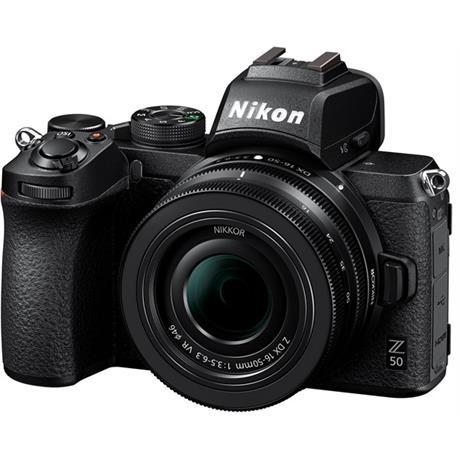 Nikon Z 50 camera 16-50mm lens & FTZ adaptor Image 1