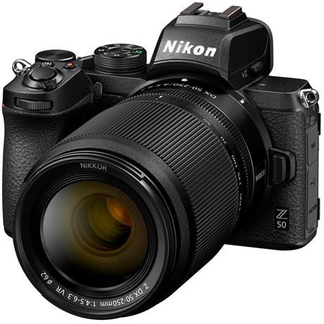 Nikon Z 50 Mirrorless Body With Nikkor Z DX 16-50 VR & 50-250 lens Image 1