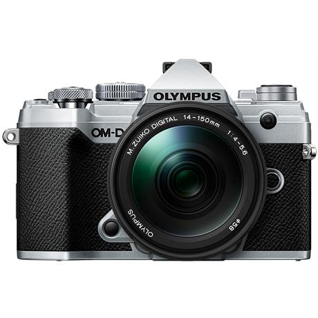 Olympus OM-D E-M5 Mk III with 14-150mm f/4-5.6 II Lens Kit - Silver Image 1
