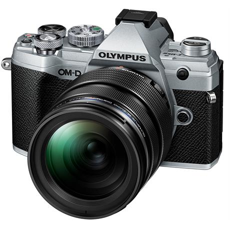 Olympus OM-D E-M5 Mk III with 12-40mm f/2.8 PRO Lens Kit - Silver Image 1