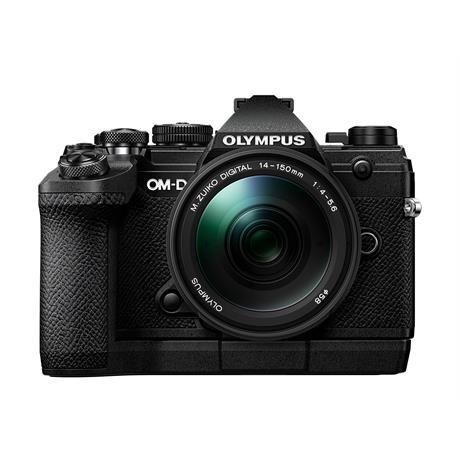 Olympus OM-D E-M5 Mk III And M.Zuiko 14-150mm f/4-5.6 II Lens Kit - Black Image 1
