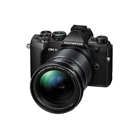 Olympus OM-D E-M5 Mk III with 12-200mm f/3.5-6.3 Lens Kit - Black Image 1