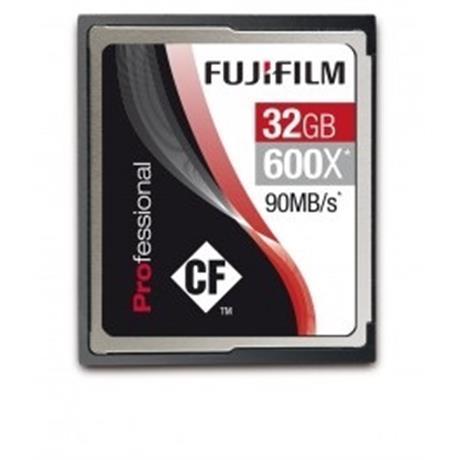 Fujifilm 32GB Compact Flash - 90mb/sec 600x Open Box Image 1