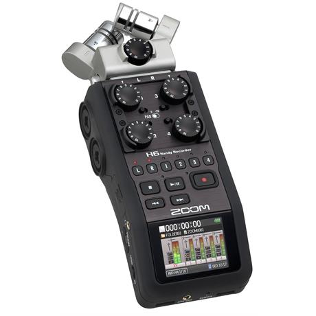 Zoom H6 Handy Recorder - open box Image 1