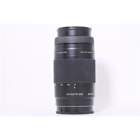Used Sony 75-300mm F/4.5-5.6 Image 1
