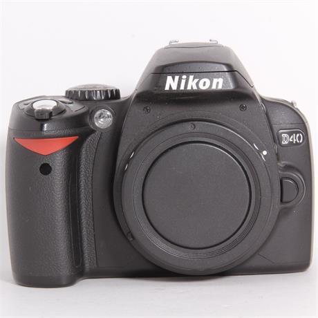 Used Nikon D40 Body Image 1