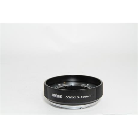 Used Metabones Contax G to Sony E-mount Image 1