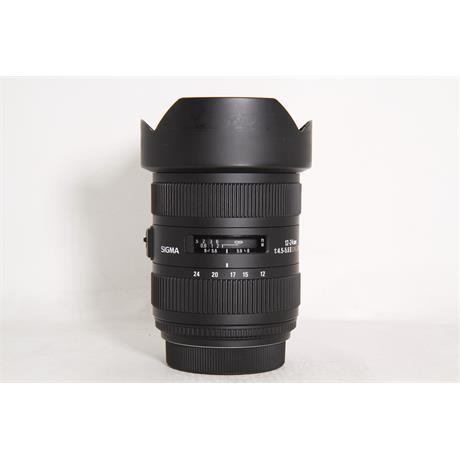 Used Sigma 12-24mm F4.5-5.6 II Sony A Image 1