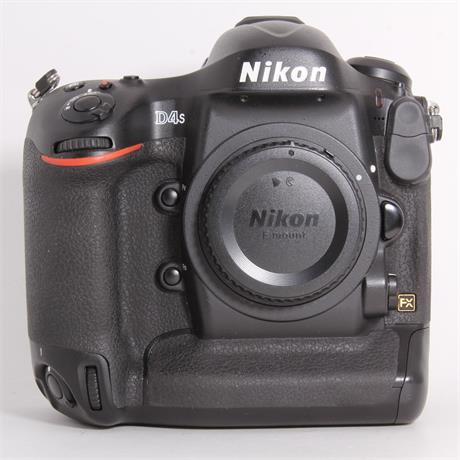 Used Nikon D4s Body Image 1