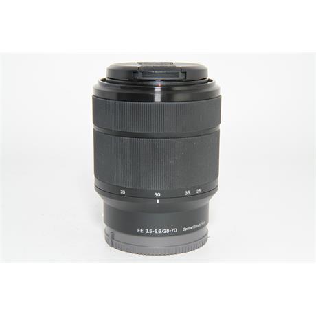 Used Sony FE 28-70mm f/3.5-5.6 OSS Lens Image 1