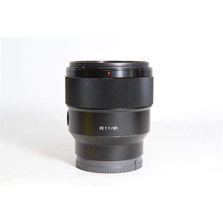 Used Sony 85mm F/1.8 FE Image 1