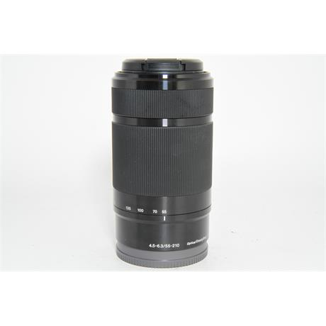 Used Sony E 55-210mm f/4.5-6.3 OSS Lens Image 1
