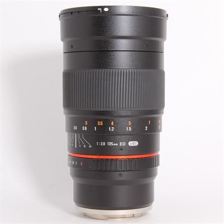 Used Samyang 135mm f/2.0 ED UMC - Sony E Image 1