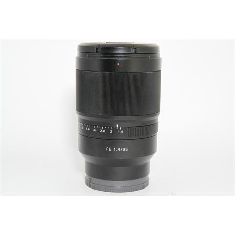 Used Sony FE 35mm F1.4 Distagon T* ZA Image 1