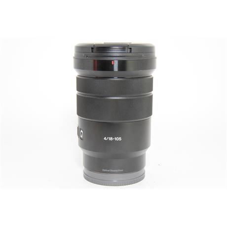 Used Sony E 18-105mm f/4 G PZ OSS Lens Image 1