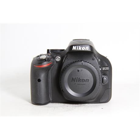 Used Nikon D5200 Body Image 1