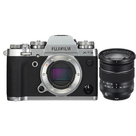 Fujifilm X-T3 Camera + 16-80mm f4 lens kit Silver Body Image 1