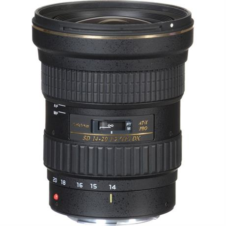 Tokina AT-X 14-20mm f/2 PRO DX Canon Open Box