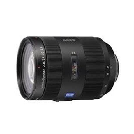 Sony Zeiss Alpha T* 24-70mm f2.8 ZA SSM II Lens Open Box Image 1