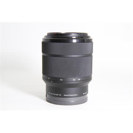 Used Sony 28-70mm F/3.5-5.6 OSS FE Image 1