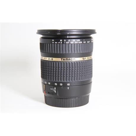 Used Tamron 10-24mm F3.5-4.5 Di II Canon Image 1
