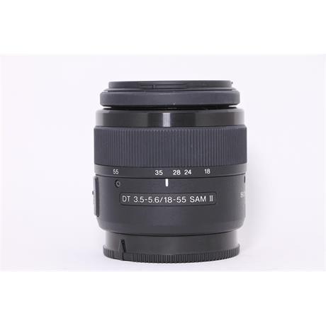 Used Sony DT 18-55mm F3.5-5.6 SAM II Image 1