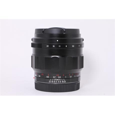 Used Voigtlander 50mm F1.2 Nokton E Image 1