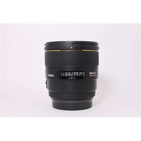 Used Sigma 85mm F/1.4 EX DG HSM Canon Image 1