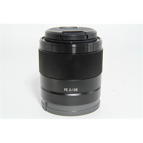 Used Sony FE 28mm f/2 Lens Image 1