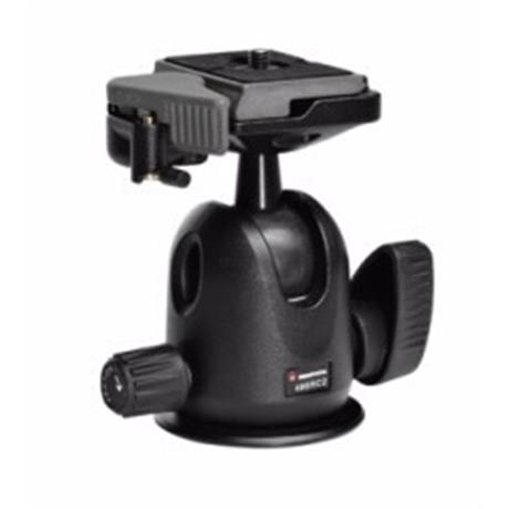 Manfrotto 496RC2 Compact Ball Head with RC2 Release Plate - Ex Demo Image 1