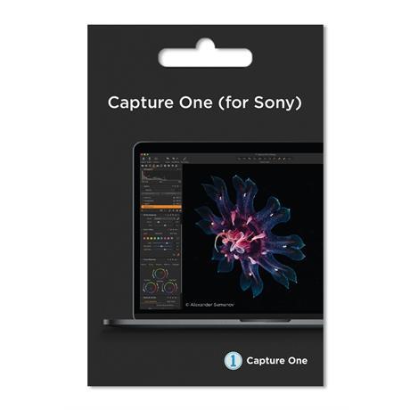 Capture One Pro 20 Sony bundle Software Image 1